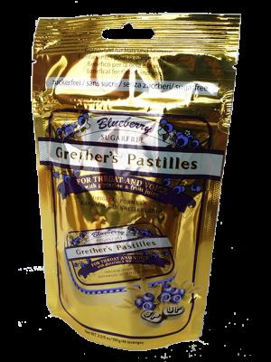 GRETHERS PASTILLEN            ZUCKERFREI BLUEBERRY                                                        BTL