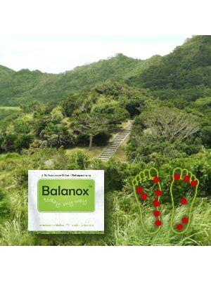 BALANOX                       REFLEXZONEN STRIPS          ENTGIFTUNG REISEPACKUNG