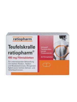 TEUFELSKRALLE-RATIOPHARM      FILMTABL 480MG