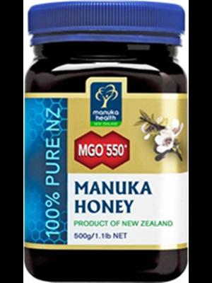 MANUKA HONIG                  MANUKA HEALTH               MGO                       550+