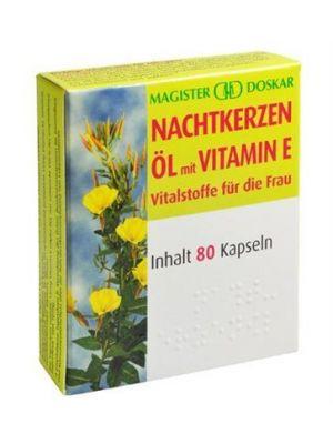 Doskar Nachtkerzenöl plus Vitamin E 80 Kapseln