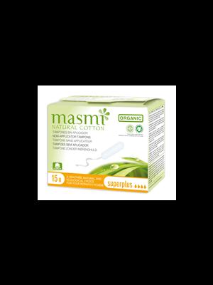 MONATSHYGIENE                 TAMPONS                     -MASMI BIO 100%BAUMWOLLE  EINZELN SUPER PLUS    STARK