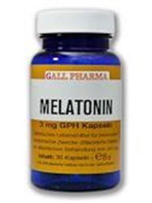 GPH Melatonin 3mg Kapseln-30 Stück