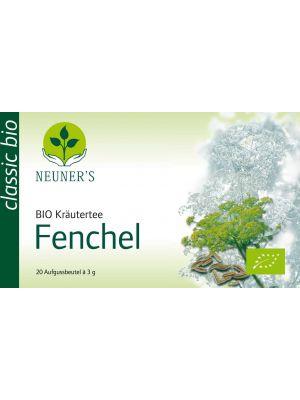 NEUNERS                       CLASSIC KRAEUTERTEE         FENCHEL BIO