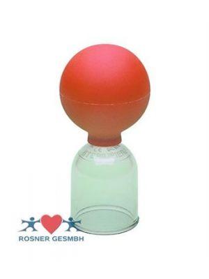 ACRYLSCHROEPFGLAS             STERILISIERBAR OHNE BALL    BIS 170°C 3,5CM