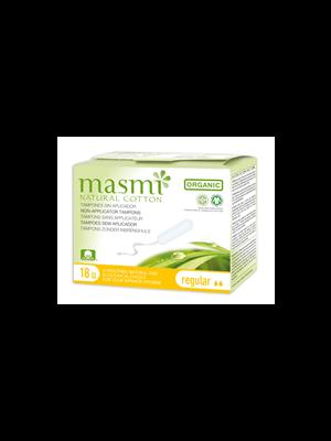 MONATSHYGIENE                 TAMPONS                     -MASMI BIO 100%BAUMWOLLE  CLASSIC LEICHT-MITTEL