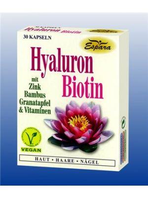 Espara Hyaluron Biotin 30 Kapseln