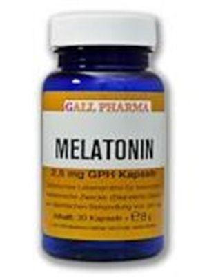 GPH Melatonin 2,5mg Kapseln-180 Stück