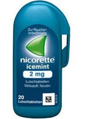 NICORETTE                     LUTSCHTABL ICEMINT 4MG