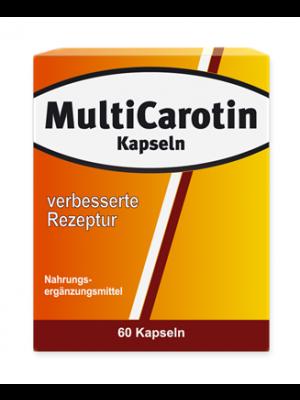 Sanvita Multicarotin Sonnenbraun 60 Kapseln