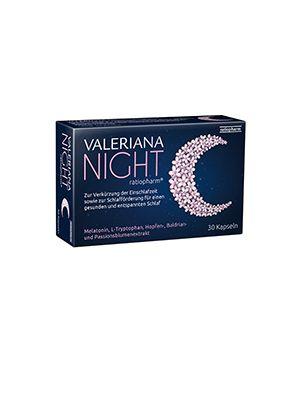 Valeriana NIGHT ratiopharm 30 Kapseln