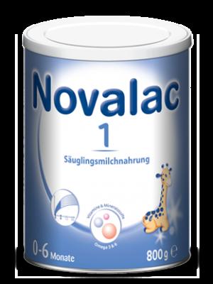 Novalac 1 Säuglingsmilchnahrung 0-6 Monate-800 g